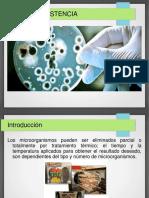 termorresistencia Microbiologia