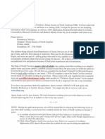 Foster Care Adoption Application Packet