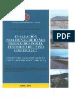 Evaluacion Preliminar de Danos de El Nino Costero 2017