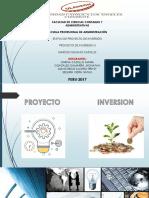 Etapas de Proyecto de Inversion.