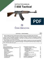 Cz 858 Manual