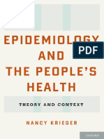 Krieger Nancy Epidemiology and the People