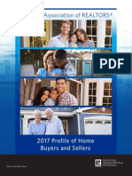 2017 Profile of Home Buyers and Sellers 10-30-2017