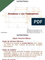 Eletrotecnia Grandezas e Leis Fundamentais