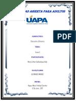 Tarea - 5 Int. Edu. a Distancia