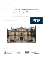 Open Health Spain 2009 Proceedings