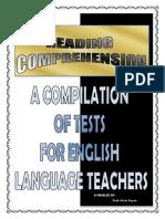 Compilation of Reading Comprehension Tests