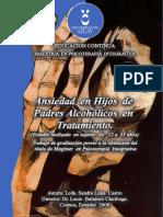 Lima Sandra. Ansiedad en Hijos de Padres Alcohilicos en Tratamiento
