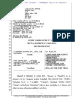 E. Mishan & Sons v. PGM Group - Complaint