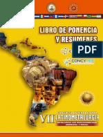 VII LATINOMETALURGIA CONGRESO INTERNACIONAL EN CUSCO-PERU