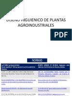 Diseño Higuienico de Plantas Agroindustriales
