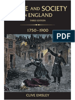 Clive Emsley Crime and Society in England, 1750-1900 3rd Edition - Capítulo 2