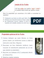 Resumen de Acidos y Bases