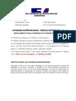 Atividade Supervision Ada - Mkt de Varejo e Industrial
