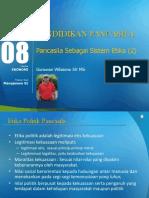 Modul 8 - Pancasila Sbg Sistem Etika (2) (Minggu 9)