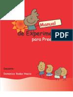Manual de Xperimentos Preescolar