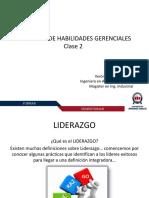 Liderazgo Clase 2