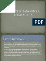 Arte Cristiano en La Edad Media