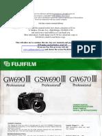 Fujifilm Gw690 III