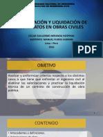 VALORIZACIÓN Y LIQUIDACIÓN DE CONTRATOS EN OBRAS CIVILES 2.pdf