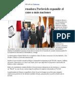 28-10-17 Propone Gobernadora Pavlovich expandir el mercado mexicano a más naciones. - Canal Sonora