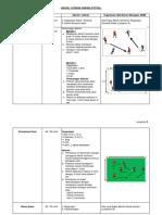 Jadual Latihan Harian (Futsal)