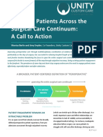 Engaging Patients Across the Surgical Care Continuum
