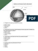 Evaluación La Tierra Pamela