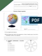 1.1 Ficha de Trabalho - A Peninsula Ibérica Na Europa e No Mundo