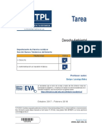 Evaluacion a Distancia Derecho Ambiental