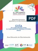 Guia Parlamento Federal Juvenil INADI 2017