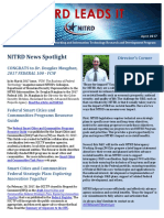 NITRD NewsLetter - April 2017