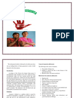 Self Instructional Module on adolescent anemia