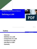 Defining a LAN