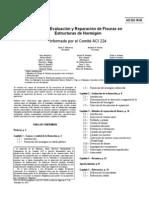ACI 224 Causas evaluacion y reparacion de fisuras en estructuras de hormigón