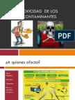 BIOQUIMICA AMBIENTAL.toxicidad de Los Contaminantes