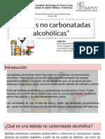 Bebidas No Carbonatadas Alcoho_licas