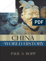 China in World History - Paul S Ropp