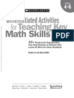 Math Skills Differentiated Activities Grade 4