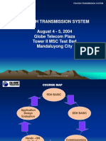 PDH/SDH TRANSMISSION SYSTEM