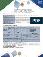 Guía Para El Desarrollo Del Componente Práctico - Laboratorio Presencial 1 - Proyecto de Ingenieria I