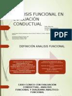 Analisis Funcional en Evaluación Conductual