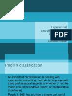 Course 4 Pegels Classification