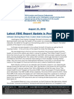 Latest Suttmeier FDIC Report Now Posted