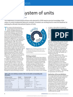 The New System of Units