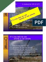Microsoft PowerPoint - Cours Eau Sols [Mode de Compatibilité] - Copie
