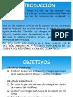INTRODUCCIÓN DE LA CUENCA DEL RIO RIMAC
