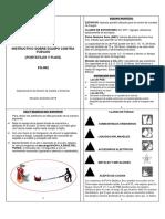 FG-002 Instructivo Sobre Equipos Contra Fuegos