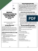 AG-020 Manual de Conservación de Los Recursos Naturales