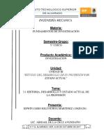 Fundamentos de Investigación Unidad 3